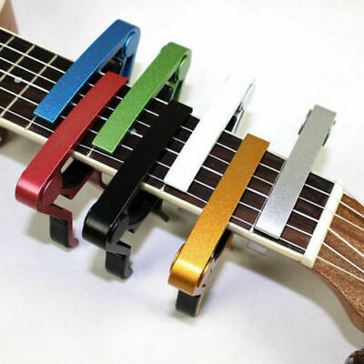 $ CDN3.61 • Buy Quick Change Key Guitar Capo For Electric/  Acoustic /Classic Trigger Tune Clamp