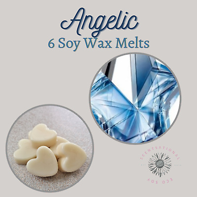 £0.11 • Buy Angelic Wax Melts - 6 Wax Melts - High Quality Fragrance - Free Shippng