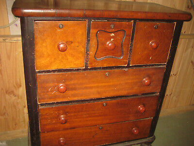 AU399 • Buy Antique Australian Red Cedar Chest Of Drawers Circa 1880 Great Condition