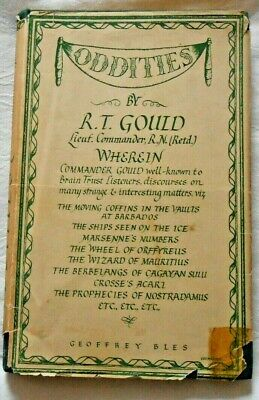 £14.99 • Buy Oddities By R T Gould RN The Wizard Of Mauritius Etc Vintage H/c