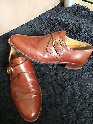 £29.99 • Buy Moreschi @ Russell & Bromley Monk Strap  Leather Shoes SZ Uk8½/42½ In Ex Con.