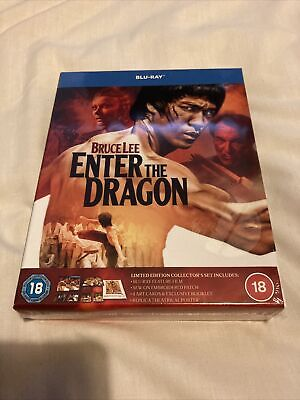 £49.99 • Buy Bruce Lee - Enter The Dragon Limited Edition Collector Set Blu-ray John Saxon