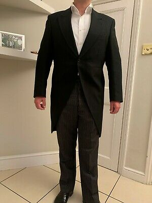 £100 • Buy MORNING SUIT / TAILS - WEDDING OUTFIT -  BESPOKE LONDON TALIOR - Rrp £5500