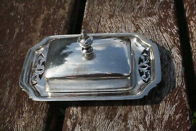 £9.95 • Buy Vintage Silver Plated Butter Dish