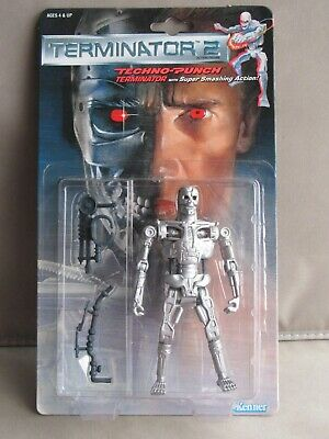 £25 • Buy Techno-Punch Terminator 2 - T2 Future War 6  Action Figure (Kenner 1991) NM