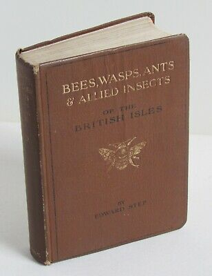 £20 • Buy Bees, Wasps, Ants And Allied Insects Of The British Isles By Edward Step 1932