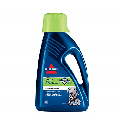£23.80 • Buy BISSELL Wash & Protect Formula | For Use With All Leading Upright Carpet | Pet &