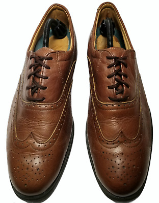 $29.97 • Buy I.E. With Nike Air Mens Size 12 Brown Wingtip Dress Shoes Made In USA, Vintage