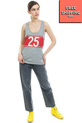 £1.10 • Buy FRANKLIN & MARSHALL Vest Top Size S Melange Coated '25' Raw Edges Made In Italy