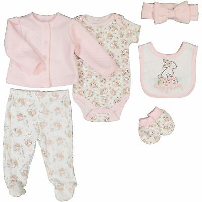 £12.99 • Buy KYLE & DEENA Pink & White Floral Six Pieces Set 6-9 Months Baby Gift Set