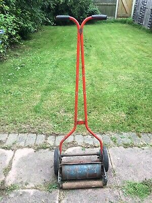 £30 • Buy Qualcast Lawn Mower Vintage Cylinder Push Hand Rotary Model.