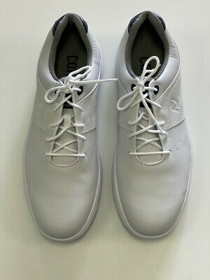 $79.95 • Buy FootJoy Mens Contour Golf Shoes -White 54113 10.5 EXTRA WIDE OPEN BOX