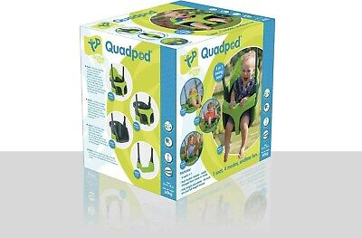 £35 • Buy TP 900 Quadpod 39 X 34cm 4 In 1 Toddler And Kids Swing Seat - Green