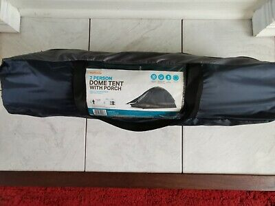 £19.99 • Buy Halfords 2 Man Dome Tent With Porch