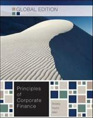 £4.08 • Buy Principles Of Corporate Finance Paperback Richard A. Brealey