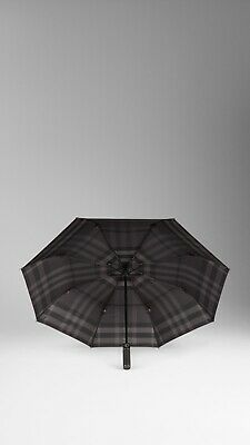 £125.95 • Buy Authentic Burberry Burgundy Check-lined Folding Umbrella NWT