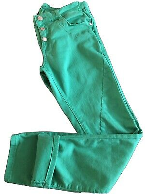 £7.50 • Buy Ladies Captain Tortue Used Green 3/4 Length Trousers Size 8
