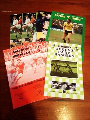 £4.99 • Buy George Best Football Programmes X 8 Including Last Game For Manchester United