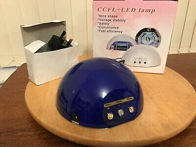 £8.75 • Buy CCFL+ LED NAIL LAMP WITH TIMER 30s/60s/180s.