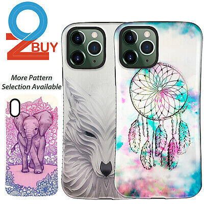 AU6.29 • Buy For IPhone 11 Pro XS Max XR 6 7 Plus Case Heavy Duty Dream Catcher Wolf Cover