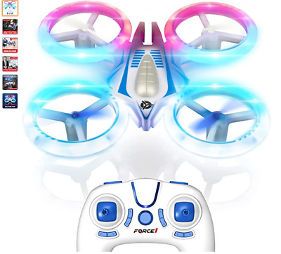 AU104 • Buy Force1 UFO 4000 LED Mini Drones For Kids - Small RC Drones For Beginners W/ 2 Qu