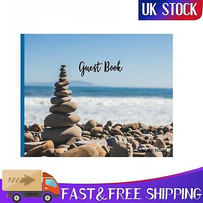 £6.33 • Buy Vacation 1 Guest Book Nautical Guest Book Visitors Book Guest Comments Book