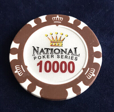 £2 • Buy National Clay Poker Series Chip