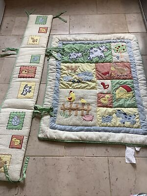£19.99 • Buy Kids Line Cot Bedding Set (smoke Free Home)  Quilt, Bumper,excellent Thick