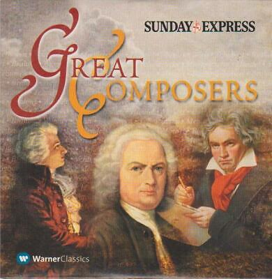 £1 • Buy Great Composers Promo Cd Beethoven Tchaikovsky Mozart & Many More
