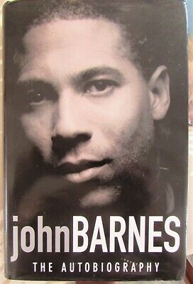 £8 • Buy Football Book By John Barnes The Autobiography Signed