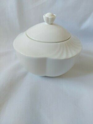 £17.50 • Buy Villeroy And Boch Sugar Bowl Arco Weiss Classic Collection Fine Bone China