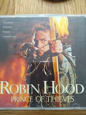 £1 • Buy Robin Hood Prince Of Thieves Original Motion Picture Soundtrack CD