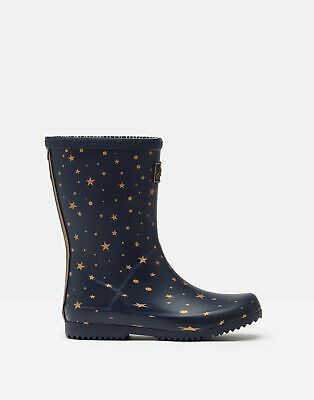 £7.50 • Buy Joules Girls Roll Up Wellies - Star Gazing - Childrens 10