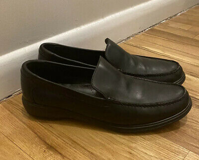 $39 • Buy Cole Haan Venetian Mens Shoes Size 12 Black Leather Loafers Not Zerogrand