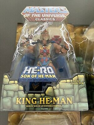 $299 • Buy MASTERS OF THE UNIVERSE KING HE-MAN 6  Figure Exclusive Limited Edition