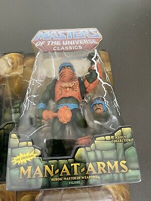 $249 • Buy MASTERS OF THE UNIVERSE MAN-AT-ARMS 6  Figure Exclusive Limited Edition