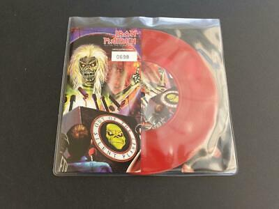 £11.50 • Buy Iron Maiden Out Of The Silent Planet 2000 Eu Press 7  Red Vinyl Record Single