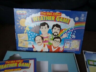 £4.99 • Buy The Met Office Weather Game From Spears Games, Vintage Board Game