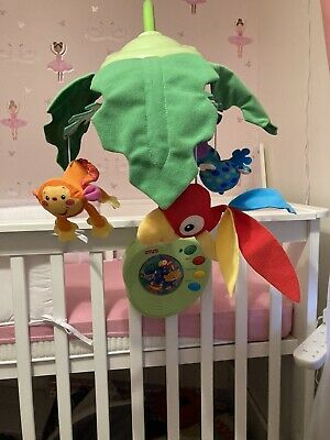 £18 • Buy Fisher Price Rainforest Peek A Boo Mobile Cot