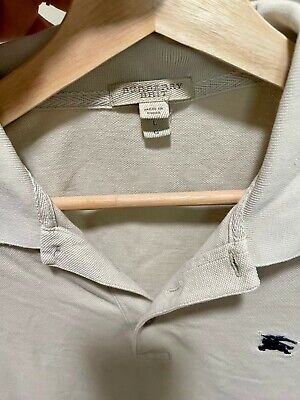 $49 • Buy Burberry Mens Polo T-Shirt, Large