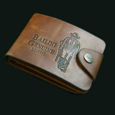 $ CDN11.14 • Buy Men's Leather Wallet ID Credit Card Holder Clutch Bifold Pocket Coin Purse NEW