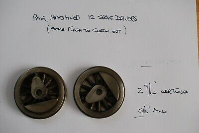 £5 • Buy Live Steam Locomotive Machined Drivers 2 9/16  Over Flange