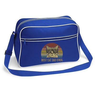 £15.99 • Buy Best Cat Dad Ever Pussy Kitty Cool Pet Animal Father's Day Shoulder Bag