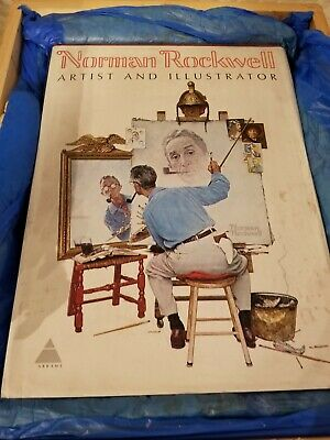 $ CDN187.25 • Buy NORMAN ROCKWELL ARTIST AND ILLUSTRATOR 1ST EDITION 1970 BOOK, BY ABRAMS, 11 Lbs.
