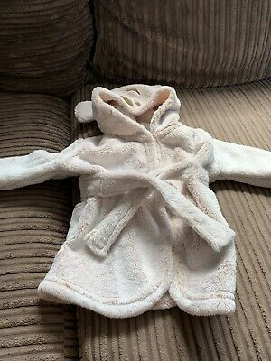 £0.99 • Buy Baby Dressing Gown 0-3 Months