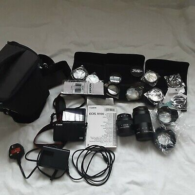 View Details Canon M100 Mirrorless Camera Body, 2 Lens And Extras • 330.00£