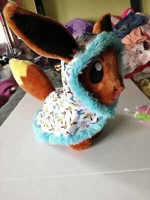 £16 • Buy Eevee Pokemon Build A Bear With Outfit, Official