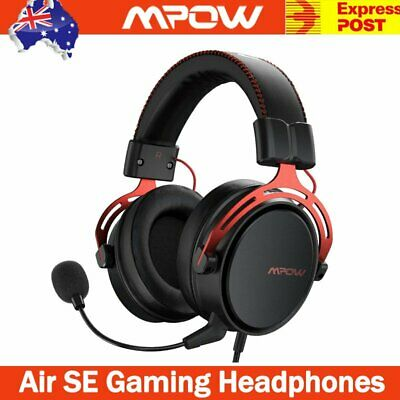 AU44.23 • Buy Mpow Air SE Gaming Headset Headphones Surround For PC Mac PS4 Xbox One Laptop