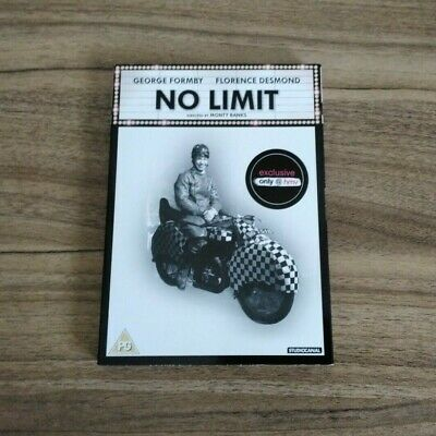 £1.99 • Buy No Limit 1935 Dvd George Formby HMV Exclusive Slipcover Slipcase