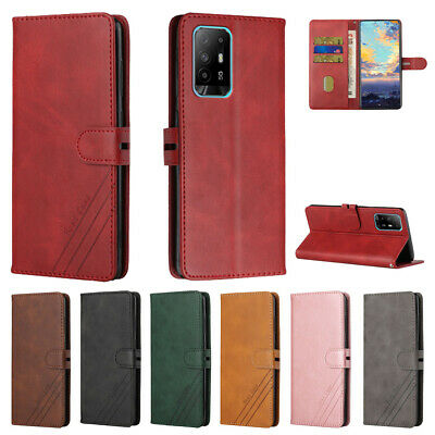 $ CDN8.58 • Buy Magnetic Starp Wallet Kickstand Leather Book Flip Case Cover For Samsung Galaxy